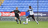 Bolton Wanderers' Ricardo Santos and Oldham Athletic's Conor McAleny<br /> <br /> Photographer Stephen White/CameraSport<br /> <br /> The EFL Sky Bet League Two - Bolton Wanderers v Oldham Athletic - Saturday 17th October 2020 - University of Bolton Stadium - Bolton<br /> <br /> World Copyright © 2020 CameraSport. All rights reserved. 43 Linden Ave. Countesthorpe. Leicester. England. LE8 5PG - Tel: +44 (0) 116 277 4147 - admin@camerasport.com - www.camerasport.com