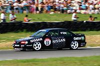 1992 British Touring Car Championship. #23 Keith Odor (GBR). Nissan Janspeed Racing. Nissan Primera GT.