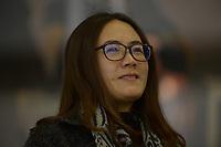 SPEEDSKATING: HEERENVEEN: 10-01-2020, IJsstadion Thialf, European Championship distances, Beixing Wang (member ISU Technical Committee), ©foto Martin de Jong