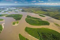 Yukon River, interior Alaska, between the towns of Circle and Eagle.