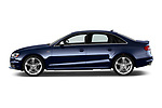 Car driver side profile view of a 2014 Audi S4 Base 4 Door Sedan