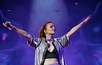 Llanelli, UK. Saturday 03 June 2017<br /> Jess Glynne performs on stage