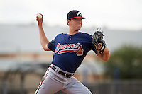 Atlanta Braves pitcher Ian Anderson (33) during an Instructional League game against the Houston Astros on September 26, 2016 at Osceola County Stadium Complex in Kissimmee, Florida.  (Mike Janes/Four Seam Images)