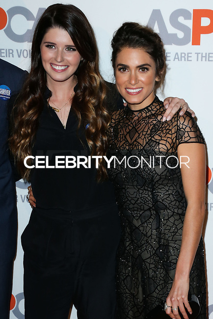 BEL AIR, CA, USA - OCTOBER 22: Katherine Schwarzenegger, Nikki Reed arrive at the 2014 ASPCA Compassion Award Dinner Gala held at a Private Residence on October 22, 2014 in Bel Air, California, United States. (Photo by Xavier Collin/Celebrity Monitor)