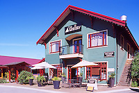 Bowen Island, BC, British Columbia, Canada - Shops and Restaurant at Artisan Square