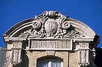 """Europe/France/Normandie/Basse-Normandie/14/Calvados/Trouville: Ancien """"Hôtel des Roches Noires"""" où résida Marguerite Duras"""