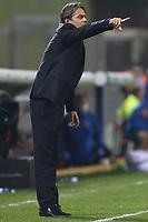 Filippo Inzaghi coach of Benevento Calcio gestures<br /> during the Serie A football match between Benevento Calcio and Spezia Calcio at stadio Ciro Vigorito in Benevento (Italy), November 7th, 2020. <br /> Photo Cesare Purini / Insidefoto