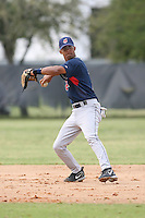 March 20th 2008:  Ronald Rivas of the Cleveland Indians minor league system during Spring Training at Chain of Lakes Training Complex in Winter Haven, FL.  Photo by:  Mike Janes/Four Seam Images