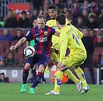 2015.11.11 Copa del Rey FC Barcelona v Vilareal