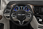 Car pictures of steering wheel view of a 2017 Chrysler Pacifica LX 5 Door Minivan Steering Wheel