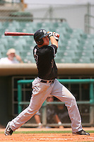 July 17 2008: Tyler Graham of the San Jose Giants during game against the Lancaster JetHawks at Clear Channel Stadium in Lancaster,CA.  Photo by Larry Goren/Four Seam Images
