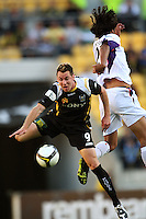 081213 A-League Football - Phoenix v Glory