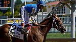 October 3, 2020: Wicked Whisper #2, ridden by jockey How Bravo, wins the Miss Preakness Stakes during Preakness Stakes Day at Pimlico Race Course in Baltimore, Maryland. Scott Serio/Eclipse Sportswire/CSM