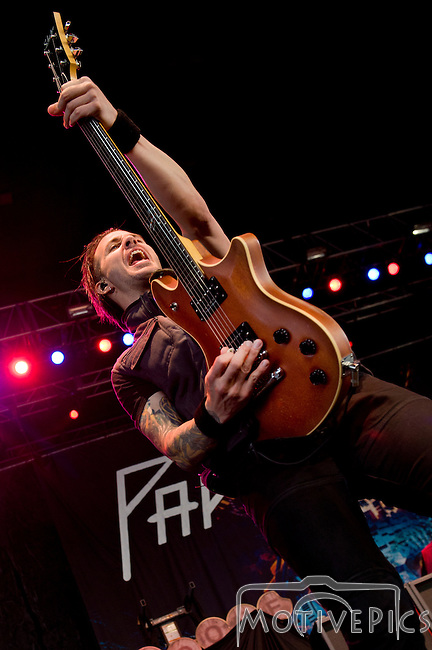 Papa Roach playing Pointfest, May 2013 at Verizon Wireless Amphitheater, St. Louis MO.