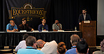 SARATOGA SPRINGS, NY - AUG 13: Big Scores on Bigs Days panel at the Inaugural Equestricon Convention on August 13, 2017 in Saratoga Springs, New York. photo by Eclipse Sportswire/Equestricon