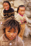 Kids in the Mustang Valley, Nepal, 2008