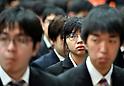 New graduates ceremony at Tokyo Budokan