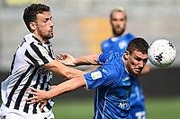 Mg Como 11/09/2021 - campionato di calcio serie B / Como-Ascoli / photo Image Sport/Insidefoto<br /> nella foto: Alessandro Gabrielloni-Dario Saric