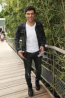 Taig Khris seen at 'Le Village de Roland Garros' during Roland Garros tennis open 2016 on may 26 2016.
