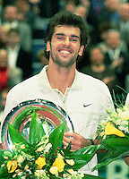 2000, ABN-AMRO TENNIS TOURNAMENT winner Cedric PIOLINE .