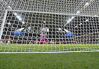 July 31, 2012..Japan's Ayumi Kaihori (18) attempts to save RSA attack during Football match between JPN and RSA at the Millennium Stadium on day four of 2012 Olympic Games in Cardiff, United Kingdom...