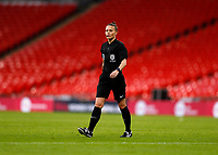 1st November 2020; Wembley Stadium, London, England; Womens FA Cup Final Football, Everton Womens versus Manchester City Womens; Referee Rebecca Welch