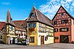Winemaker's headquarters in Eguisheim, Alsace