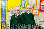 Twins, Mia and Bella Fitzgerald in Miss Mulligan's class in Firies NS.