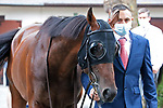 August 15, 2021, Deauville (France) - Order of Australia (3) at the Prix du Haras de Fresnay-Le-Buffard Jaques Le Marois (Gr I) at Deauville-La Touques Racecourse on August 15 in Deauville. [Copyright (c) Sandra Scherning/Eclipse Sportswire)]