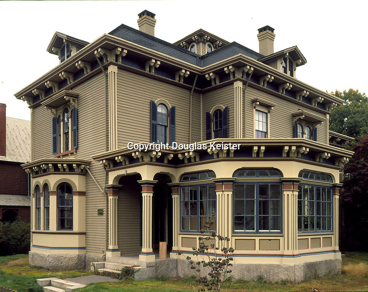 Abby Tabor Hunt House,.Morgan and Orchard St..New Bedford, MA