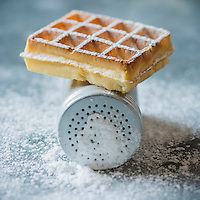 Gastronomie: Gaufre belge // Gastronomy: Belgian waffle - Stylisme : Valérie LHOMME