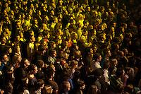 Menschenmenge bei einem Hip-Hop-Konzert.<br />15.3.2010, Berlin<br />Copyright: Christian-Ditsch.de<br />[Inhaltsveraendernde Manipulation des Fotos nur nach ausdruecklicher Genehmigung des Fotografen. Vereinbarungen ueber Abtretung von Persoenlichkeitsrechten/Model Release der abgebildeten Person/Personen liegen nicht vor. NO MODEL RELEASE! Don't publish without copyright Christian-Ditsch.de, Veroeffentlichung nur mit Fotografennennung, sowie gegen Honorar, MwSt. und Beleg. Konto: I N G - D i B a, IBAN DE58500105175400192269, BIC INGDDEFFXXX, Kontakt: post@christian-ditsch.de Urhebervermerk wird gemaess Paragraph 13 UHG verlangt.]