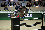 Daniel Deusser on Hidalgo V. competes during Longines Speed Challenge at the Longines Masters of Hong Kong on 20 February 2016 at the Asia World Expo in Hong Kong, China. Photo by Li Man Yuen / Power Sport Images