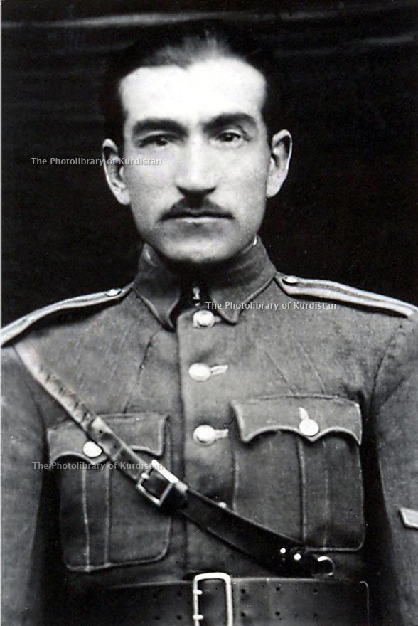 Iran 1940.<br /> Saqez: Portrait of Aziz Azizi Nobahari, called Aziz Khan Aajaan.<br /> Iran 1940.<br /> Saqez: Portrait de Aziz Azizi Nobahari, dit Aziz Khan Aajaan