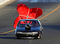 Jul 28, 2017; Sonoma, CA, USA; NHRA super gas driver Clint Fishel during qualifying for the Sonoma Nationals at Sonoma Raceway. Mandatory Credit: Mark J. Rebilas-USA TODAY Sports