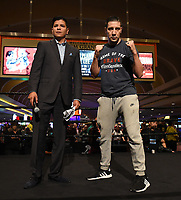 LAS VEGAS - JULY 17: John Molina Jr. attends the media workout for the PBC on Fox Sports Pay-Per-View at the MGM Grand on July 17, 2019 in Las Vegas, Nevada. (Photo by Frank Micelotta/Fox Sports/PictureGroup)