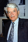 """Hal Holbrook attends """"Hughie"""" on August 22, 1996 at Circle in the Square in New York City."""