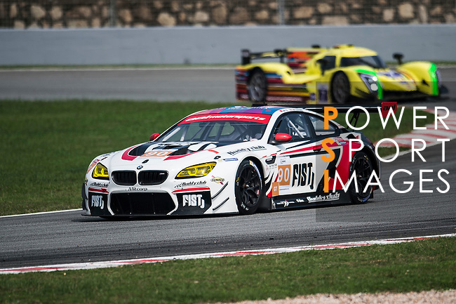 Team AAI, #90 BMW M6 GT3, driven by Lam Yu, Akira Ilda and Tom Blomqvist in action during the 2016-2017 Asian Le Mans Series Round 1 at Zhuhai Circuit on 30 October 2016, Zhuhai, China.  Photo by Marcio Machado / Power Sport Images