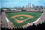 Baseball Game, Wrigley Field, Chicago, Illinois