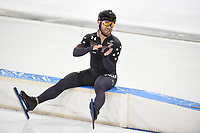SPEEDSKATING: HEERENVEEN: 22-01-2021, IJsstadion Thialf, ISU World Cup I, Mass Start, Joey Mantia (USA), ©photo Martin de Jong