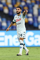 Lorenzo Insigne of SSC Napoli<br /> during the friendly football match between SSC Napoli and Pescara Calcio 1936 at stadio San Paolo in Napoli, Italy, September 11, 2020. <br /> Photo Cesare Purini / Insidefoto