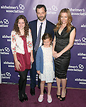 "Leslie Mann,Judd Apatow and kids at The 19th Annual ""A Night at Sardi's"" benefitting the Alzheimer's Association held at The Beverly Hilton Hotel in Beverly Hills, California on March 16,2011                                                                               © 2010 Hollywood Press Agency"