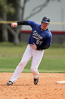 March 22, 2010:  First Baseman Josh Pressley (57) of the Long Island Storm during a game at the Carl Barger Training Complex in Melbourne, FL.  Photo By Mike Janes/Four Seam Images