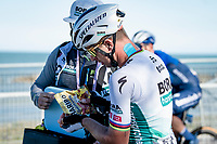 Peter Sagan (SVK/BORA - hansgrohe) needing his Haribo fix post-finish<br /> <br /> Stage 6 from Castelraimondo to Lido di Fermo (169km)<br /> <br /> 56th Tirreno-Adriatico 2021 (2.UWT) <br /> <br /> ©kramon