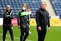 Steve Cooper Head Coach of Swansea City during the Sky Bet Championship match between Preston North End and Swansea City at Deepdale in Preston, England, UK. Saturday 12 September 2020