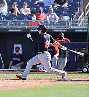 Connor Marabell - Cleveland Indians 2021 spring training (Bill Mitchell)
