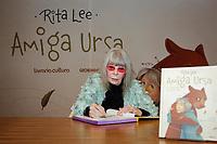 """SÃO PAULO, SP 22.07.2019: RITA LEE-SP - A cantora, compositora e escritora Rita Lee lançou seu novo livro infantil """"Amiga Ursa"""" na tarde desta segunda-feira, 22, na Livraria Cultura do Conjunto Nacional, na região central da capital paulista. (Foto: Ale Frata/Código19)"""
