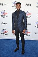 03 March 2018 - Santa Monica, California - Chadwick Boseman. 33rd Annual Film Independent Spirit Awards held at the Santa Monica Pier. Photo Credit: F. Sadou/AdMedia