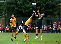 Thursday 9th September 20218 <br /> <br /> Billy Burns during the pre-season friendly between Saracens and Ulster Rugby at the Honourable Artillery Company Grounds, Armoury House, London, England. Photo by John Dickson/Dicksondigital