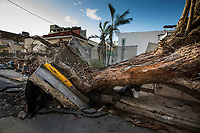 Storm Maria aftermath in Loiza, Puerto Rico, where rescue teams are working to stand up basic infrastructure.